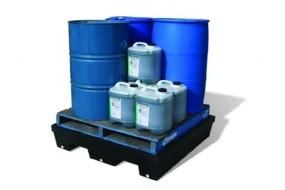 4 Drum Bund Polyethylene