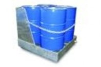 4 Drum Bund Galvanised - Shrouded