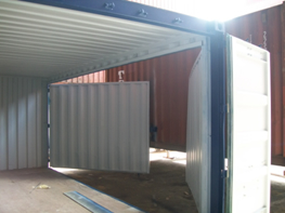 Dangerous goods container 20ft - Enclosed