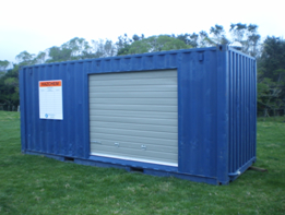 Dangerous goods Store 20ft - Enclosed